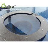 Migliore raggruppamento di superficie smerigliatrice di vendita del granito del nero di fortuna G684 che fa fronte per la piscina