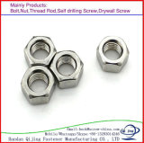 DIN galvanisé 980 tout le type de noix de tête d'hexagone en métal