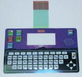 Interruttore di membrana stampato Digtal elettronico del giocattolo delle tastiere di controllo di Polydome