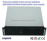 Batería Telecom profunda rentable LiFePO4 del ciclo 48V 50ah