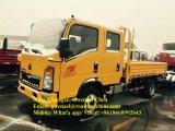 두 배 오두막 Sinotruk HOWO 4X2 3 톤 경트럭