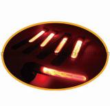Fita de ciclagem de funcionamento do esporte do aviso reflexivo do diodo emissor de luz para ao ar livre