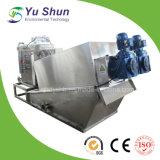 Machine de asséchage de filtre-presse de cambouis de vis