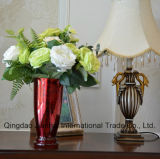 Покрашенная ваза цветка декоративного Houseware стеклоизделия стеклянная