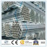 Pipe en acier galvanisée par utilisation de construction