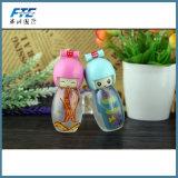 20ml de mooie Fles van het Glas van het Parfum van het Glaswerk van de Lotion van Doll