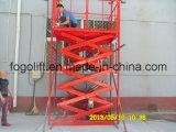 Levages hydrauliques hydrauliques fixes de ciseaux pour la charge et les marchandises de déchargement