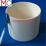 Crogiolo di ceramica 1800c a temperatura elevata