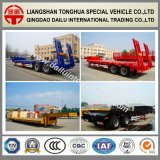 Ctsm 2-Axles alargou o reboque do transporte Lowbed/Lowboy da máquina escavadora Semi
