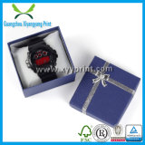 Vente en gros de empaquetage de boîte-cadeau de carton de montre de luxe faite sur commande de papier