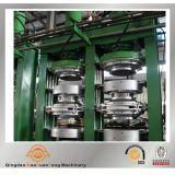 기관자전차 가황하는 고무 캡슐 유형 타이어 ISO BV SGS를 가진 압박 기계 치료