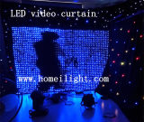 LED-Anblick-Tuch-Vorhang-Hintergrund