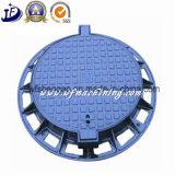 정원을%s 연성이 있는 철 맨홀 뚜껑을 던져 OEM En124 D400