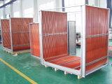 China Radiador de tubo de aleta de aluminio para enfriar aceite o aire