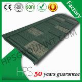 Mattonelle rivestite di tetto delle mattonelle della pietra ondulata del metallo