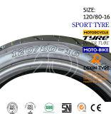 미국 스포츠 타이어 기관자전차의 남쪽은 모터바이크 기관자전차 타이어 기관자전차 타이어 120/80-16를 분해한다