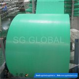 Tissu tissé par polypropylène de vert de qualité de la Chine