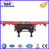 3 dos eixos 40t-100t da carga do caminhão reboque Flatbed Semi