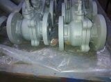 JIS furam completamente a válvula de esfera do ferro de molde do assento 10k de PTFE
