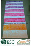 ペーズリー暖かいデザインの100%年の綿のベロアの反応印刷されたビーチタオル