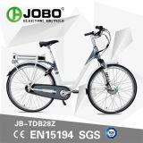 Vélo électrique de bicyclette de ville de mode personnelle de tambour de chalut avec le moteur avant d'entraînement (JB-TDB28Z)