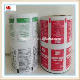 Papel de aluminio de papel metalizado para la esponja del alcohol