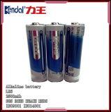 Baterias secas preliminares alcalinas do tamanho Lr6 1.5V do AA