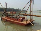 川の砂鉱山のための砂の吸引のポンプボート