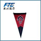 Вися знамя флага ткани печатание типа