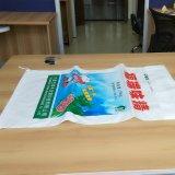 Sachet en plastique d'usine de la Chine pour empaqueter le sable 25kg/50kg