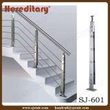 Barandilla del pasamano de la escalera de la cuerda de alambre con la cuerda de alambre de acero inoxidable (SJ-H1726)