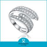 Самое последнее кольцо стерлингового серебра Seafish 925 с дешевым ценой (R-0348)