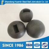 Durchmesser-70mm geschmiedete reibende Media-Stahlkugel für Bergbau-Kugel-Tausendstel