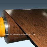Il fornitore di colore di legno ha ricoperto le bobine galvanizzate di PPGI