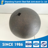 Dia鉱山のボールミルのための70mm造られた粉砕媒体の鋼球