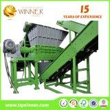 Máquinas montadas para recicl a linha de produção
