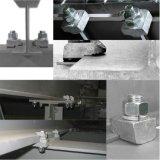 Bride malléable Ba1g12 de faisceau d'Ironked galvanisée par boulon de difficulté du dispositif de fixation M12