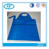Tablier à cuire en plastique remplaçable de PE pour des adultes