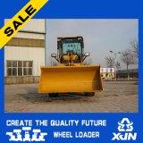 1.5ton Compact hydraulique Wheel Loader avec Joystick et changement rapide en option