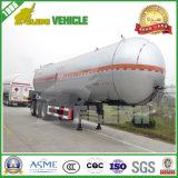 3 de Semi Aanhangwagen van de Tank van LPG van assen