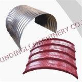 Indische Art färbte Stahl gewölbte Dach-Maschine