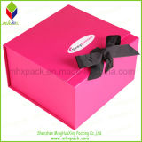 Förderndes Paper Packaging Rigid Folding Box mit Ribbon