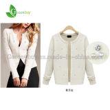 Transporte livre camisola fina de 2014 do Outerwear fêmea da camisola do casaco de lã da mola do outono mulheres elegantes do Todo-Fósforo