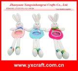 イースター装飾(ZY15Y351-1-2-3)のイースターウサギのポケットクラフトキャンデー袋の装飾