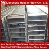 Galvanzied rechteckiges Stahlrohr verwendet als Baumaterialien