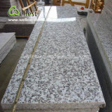 想像のよい価格の白いG439磨かれた花こう岩の床タイル