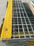 Tec-Sieve T6 Stair Treads Grating com anti-Slip Stair Nosing