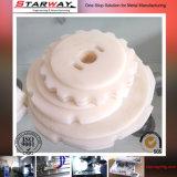 Kundenspezifische Präzisions-Gummi CNC maschinelle Bearbeitung