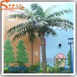 Palmeira artificial do coco da decoração do jardim