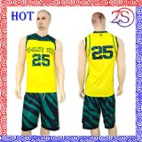 Uniforme personalizado do basquetebol do Sublimation da equipe